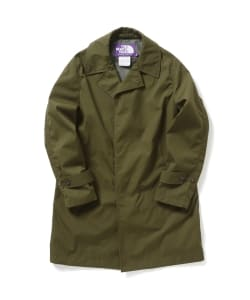 THE NORTH FACE PURPLE LABEL × BEAMS / 別注 ステンカラーコート