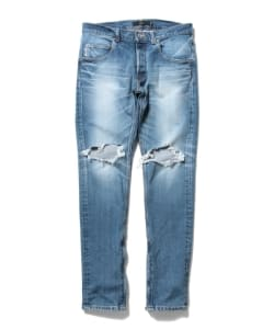 【予約】VAPORIZE / Damage Denim Pants