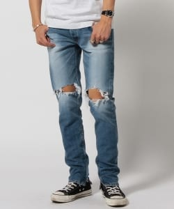 VAPORIZE / Damage Denim Pants
