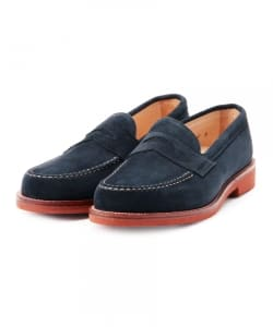 "ALDEN×BEAMS PLUS / 別注 ""Suede Penny Loafers"""