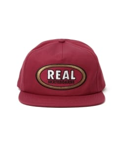 REAL SKATEBOARDS / Oval Cap