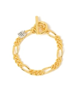 On The Sunny Side Of Street / Figaro Chain Bracelet