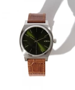 NIXON / THE TIME TELLER LEATHER