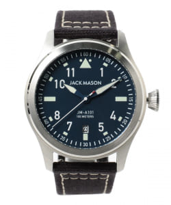 JACK MASON / AVIATION Urban Outdoor Collection AVIATION JM-A102-302 3針 ウォッチ