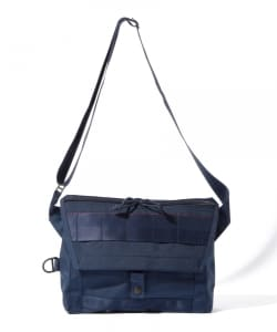 "BRIEFING×BEAMS PLUS / 別注 ""Fleet Messenger Bag""NAVY"
