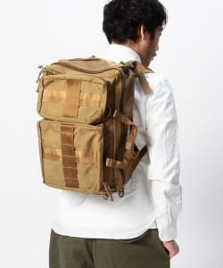 "BRIEFING×BEAMS PLUS / 別注 ""3WAY BAG""COYOTE"