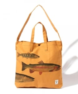 SOUTH 2 WEST 8 / PRINTED GROCERY BAG - 4FISHES