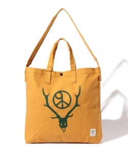 SOUTH2 WEST8 / PRINTED GROCERY BAG - CIRCLE HORN