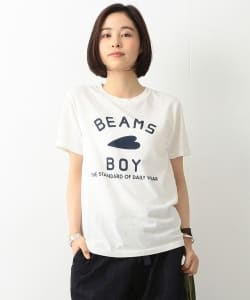 BEAMS BOY / BB ロゴTEE