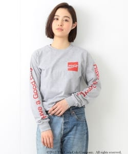 Coca-Cola & Fruit of The Loom by  BEAMS BOY / プリント ロングスリーブ Tシャツ
