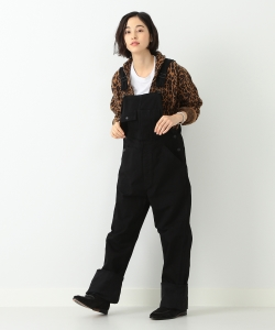 orslow / OVERALL BLACK