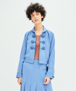 【予約】【GINZA 2月号掲載】maturely / Chinoiserie Jacket