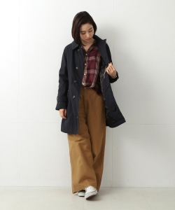 ●【予約】THE NORTH FACE PURPLE LABEL × BEAMS BOY / 別注 ステンカラーコート 17AW
