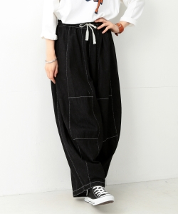 ●NEEDLES WOMAN / HD Pants BLACK
