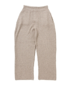 【タイムセール対象 WEB限定】maturely / Tutanaga Rib Pants