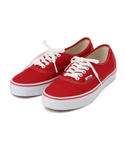 【GINZA 1月号掲載】VANS / AUTHENTIC