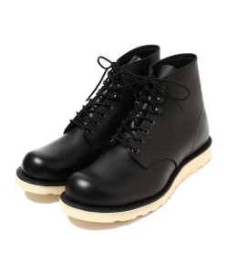 <WOMEN>RED WING×BEAMS / Irish Setter Black Round Toe