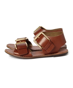 【GINZA 2月号掲載】maturely / Leather Mens Hep Sandal