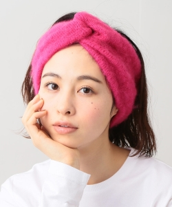 INFIELDER DESIGN × BEAMS BOY / モヘヤ ヘアバンド