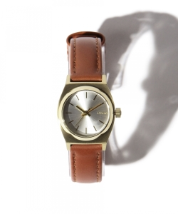 NIXON / THE SMALL TIME TELLER LEATHER