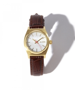 ◇【FUDGE11月号掲載】NIXON / THE SMALL TIME TELLER SPECIAL (BROWN)