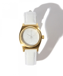 NIXON / THE SMALL TIME TELLER WHITE