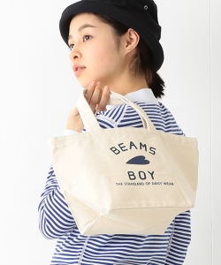 BEAMS BOY / BB ロゴ TOTE BAG (S)