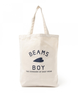 BEAMS BOY / BB ロゴ TOTE BAG (M)