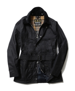 "Barbour×BEAMS F / 40th別注 ""BEAUCHAMP""ネイビー"