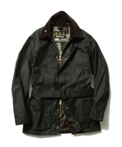"Barbour×BEAMS F / 40th別注 ""BEAUCHAMP""オリーブ"