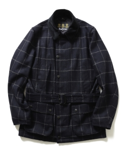 "Barbour×BEAMS F / 40th別注 ""BEAUCHAMP""ウィンドーペーン"