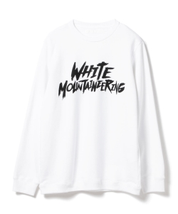 ●White Mountaineering / プリント スウェットパーカ