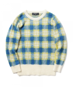 Phingerin / MOHAIR KNIT PLAID
