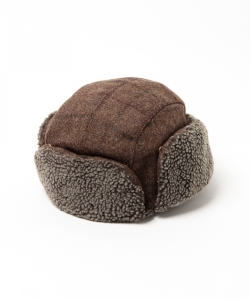 Barbour / TWEED TRAPPER HAT