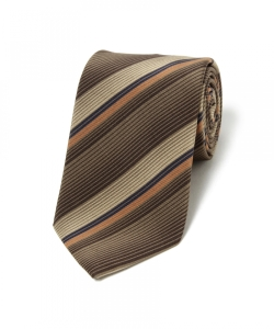 ATKINSONS / Narrow Stripe TIE