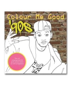 Colour Me Good 90s (Coloring Book)