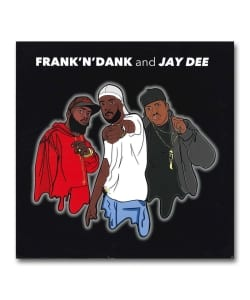 【LP】Frank'n'Dank & Jay Dee / The Jay Dee Tapes <Delicious Vinyl>