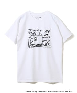 KEITH HARING×TURNTABLE LAB / Robot DJ Tシャツ
