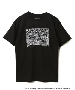 KEITH HARING×TURNTABLE LAB / Astor Place Tシャツ