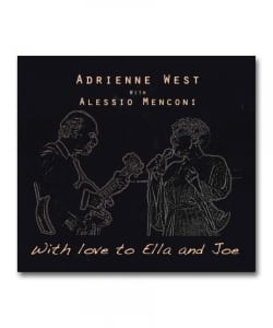 Adrienne West With Alessio Menconi / With Love To Ella And Joe <Dot Records>