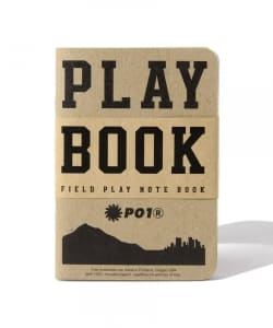 P01 / FIELD PLAY NOTEBOK