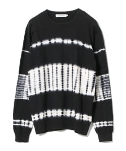 nonnative / GUARDIAN SWEATER COTTON YARN TIE-DYE