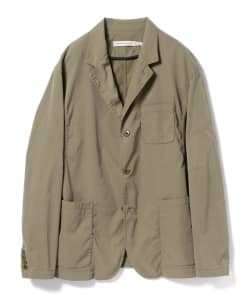 nonnative for B jirushi yoshida(GS)/ 別注MANAGER 3B JACKET POLY TWILL STRETCH OVERDYED
