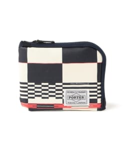 White Mountaineering x PORTER / MULTI LOGO CHECK WALLET