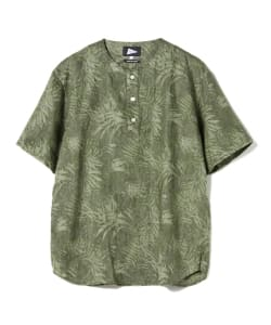 【予約】Pilgrim Surf+Supply / MATTY Linen Print Shirt