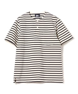 【予約】Pilgrim Surf+Supply / SKIP Stripe Pocket Tee