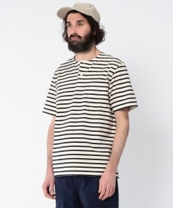 Pilgrim Surf+Supply / SKIP Stripe Pocket Tee