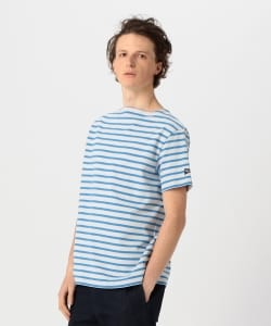 【予約】<MENS>ORCIVAL × Pilgrim Surf+Supply / 別注 Border S/S Tee