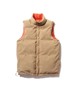Pilgrim Surf+Supply / RUSTY Reversible Puffer Down Vest