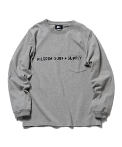 Pilgrim Surf+Supply / Logo Print Tee